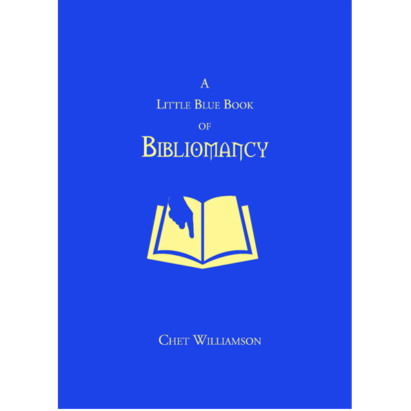 A Little Blue Book of Bibliomancy featuring Chet Williamson