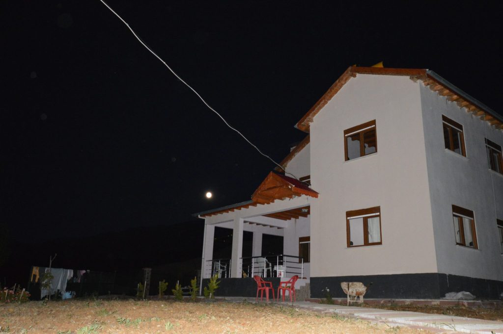 My friend's house in Kırkısrak, Turkey.