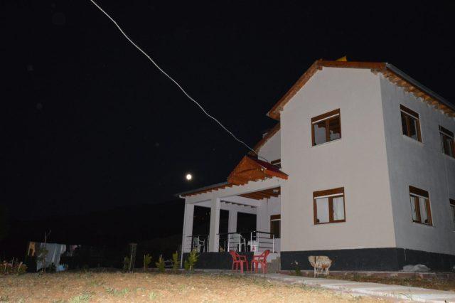 Mehmet's house in Kırkısrak, Turkey