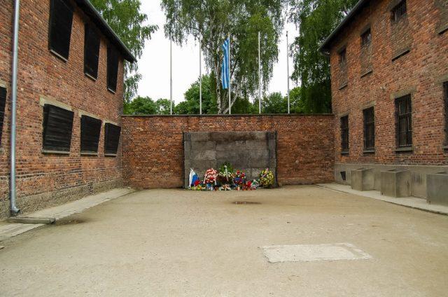 Death Wall, Auschwitz