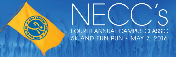 NECC Campus Classic 5K and Fun Run on May 7