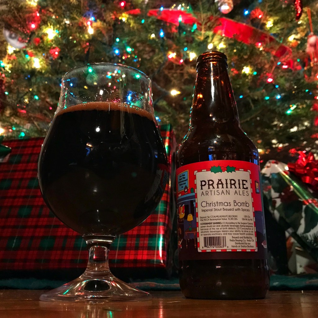The BRC 12 Beers of Christmas 2017 Beer 10: Prairie Christmas Bomb