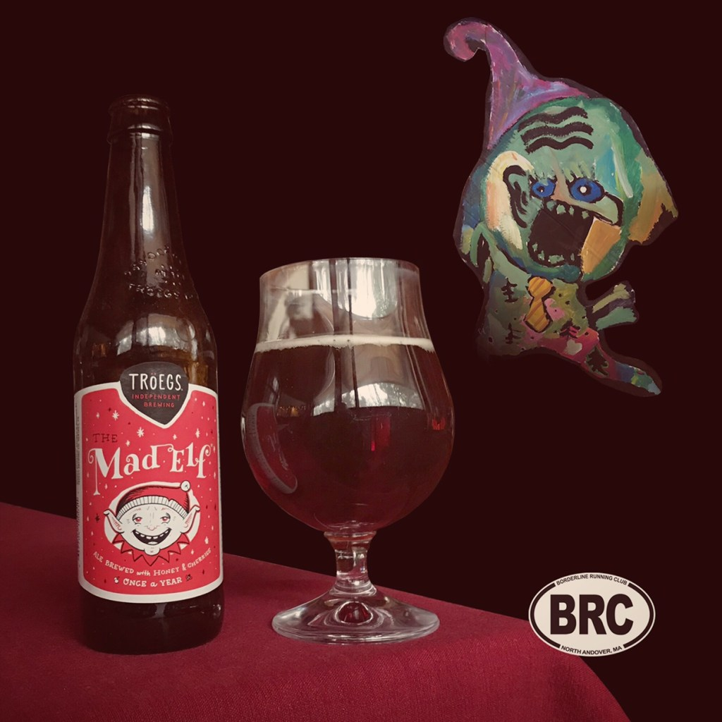The BRC 12 Beers of Christmas 2017 Beer 2: Tröegs Mad Elf 2017