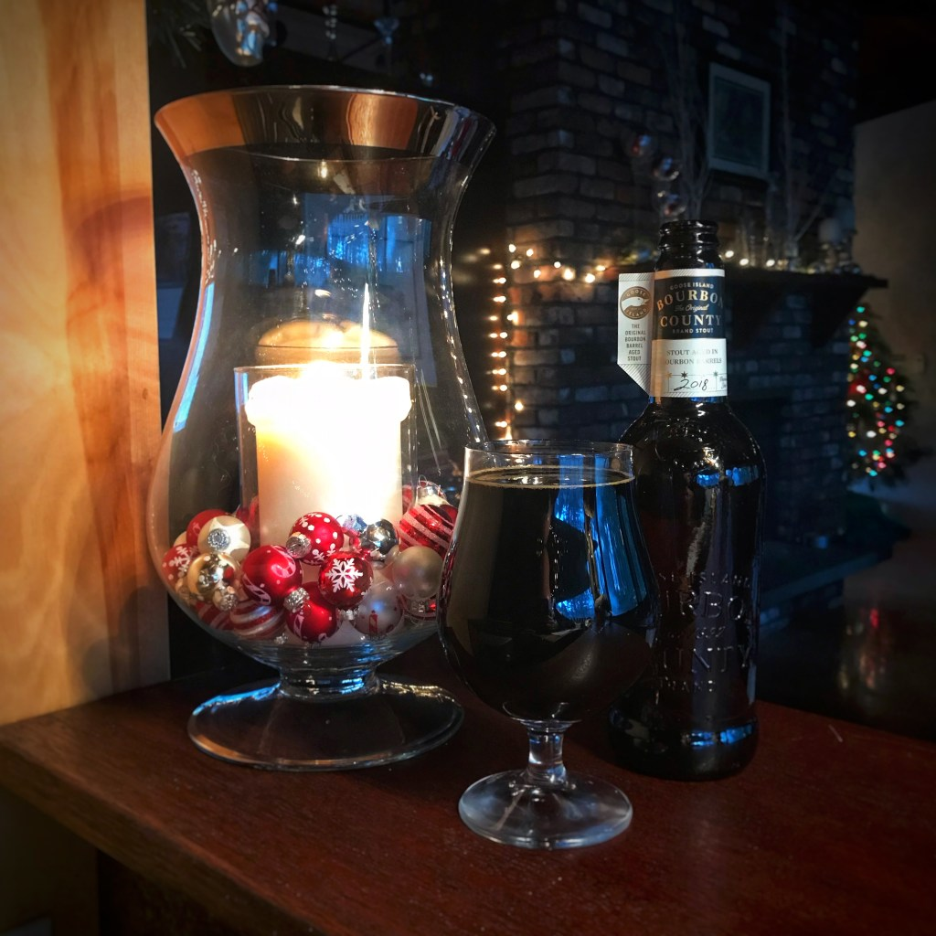 The BRC 12 Beers of Christmas 2018 Beer 0: Goose Island Bourbon County Stout 2018