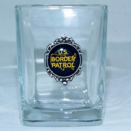 Square BP Shot glass - Glassware