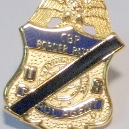 CBP Mourning Badge - Pins / Charms