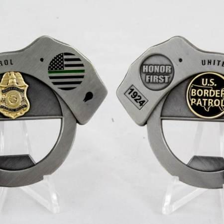 USBP HANDCUFF COIN - Coins