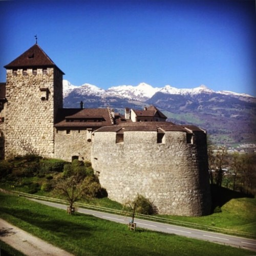 Walking Across the Country of Liechtenstein