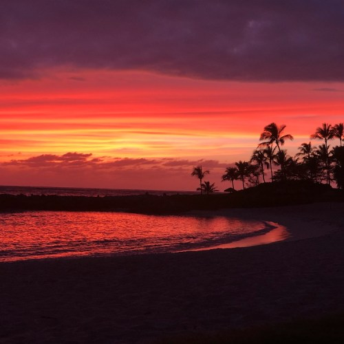 The Ko Olina Lagoons Sunset
