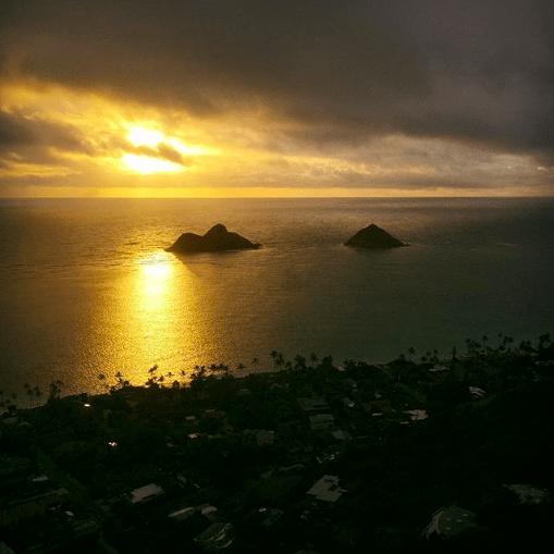 Hike to Lanikai Pillbox for Sunrise