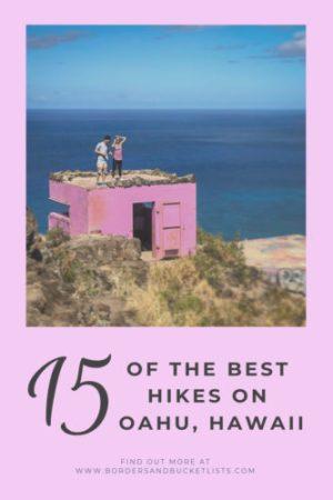 15 of the Best Hikes on Oahu, Hawaii #oahu #hawaii #hikes #hawaiihikeks #oahuhikes