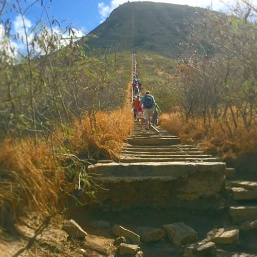 Hiking Koko Head Opener
