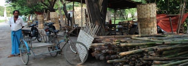 Mandalay Bamboo Weaving