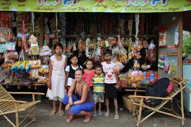 Mandalay village