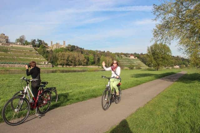 Elbe Cycle Route, Dresden, Germany