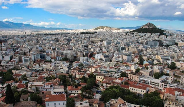 Athens viewpoint