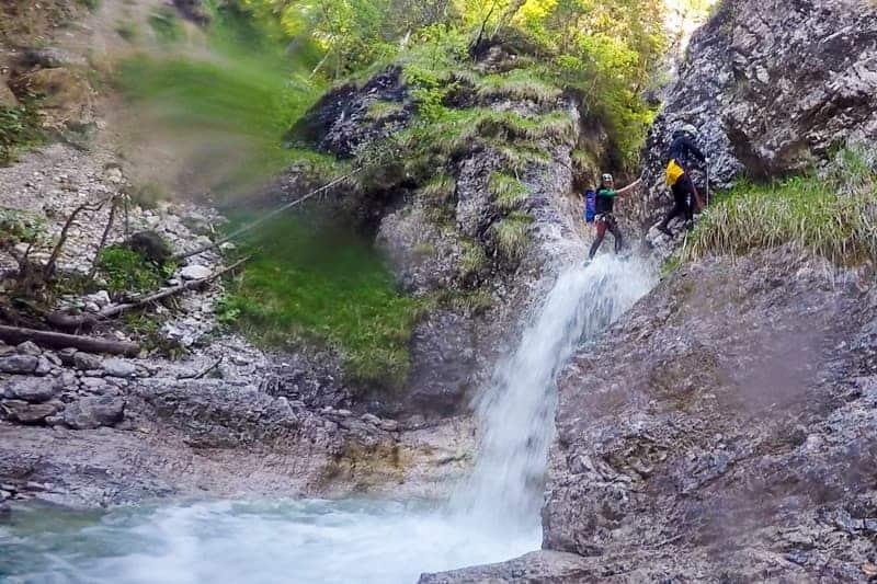 Canyoning, Austria