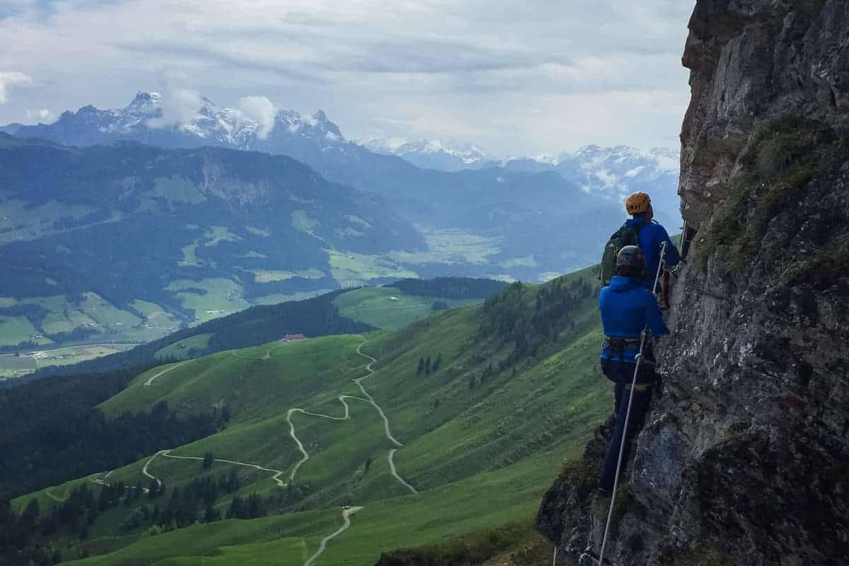 Via Ferrata, Tirol, Austria