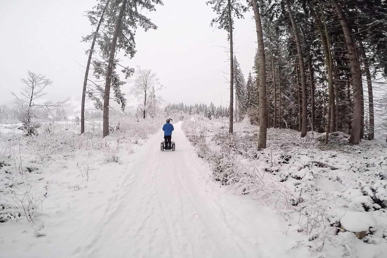 Winter Segway in Austria