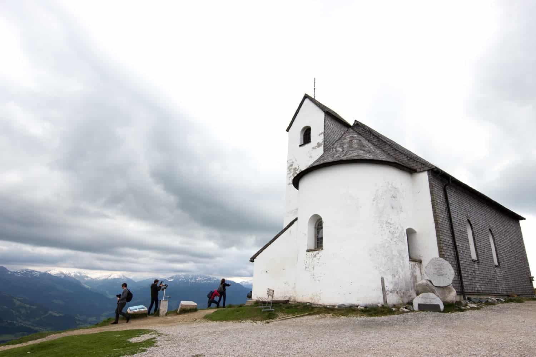 The Salvenkirchlein, Hohe Salve, Tirol, Austria