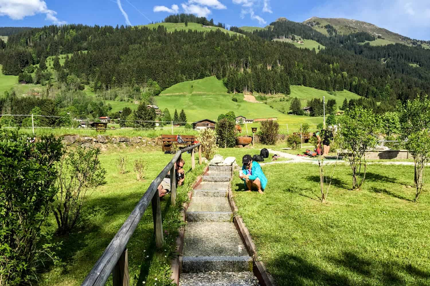 Kneipp facilities, Tirol in sping and summer, Austria