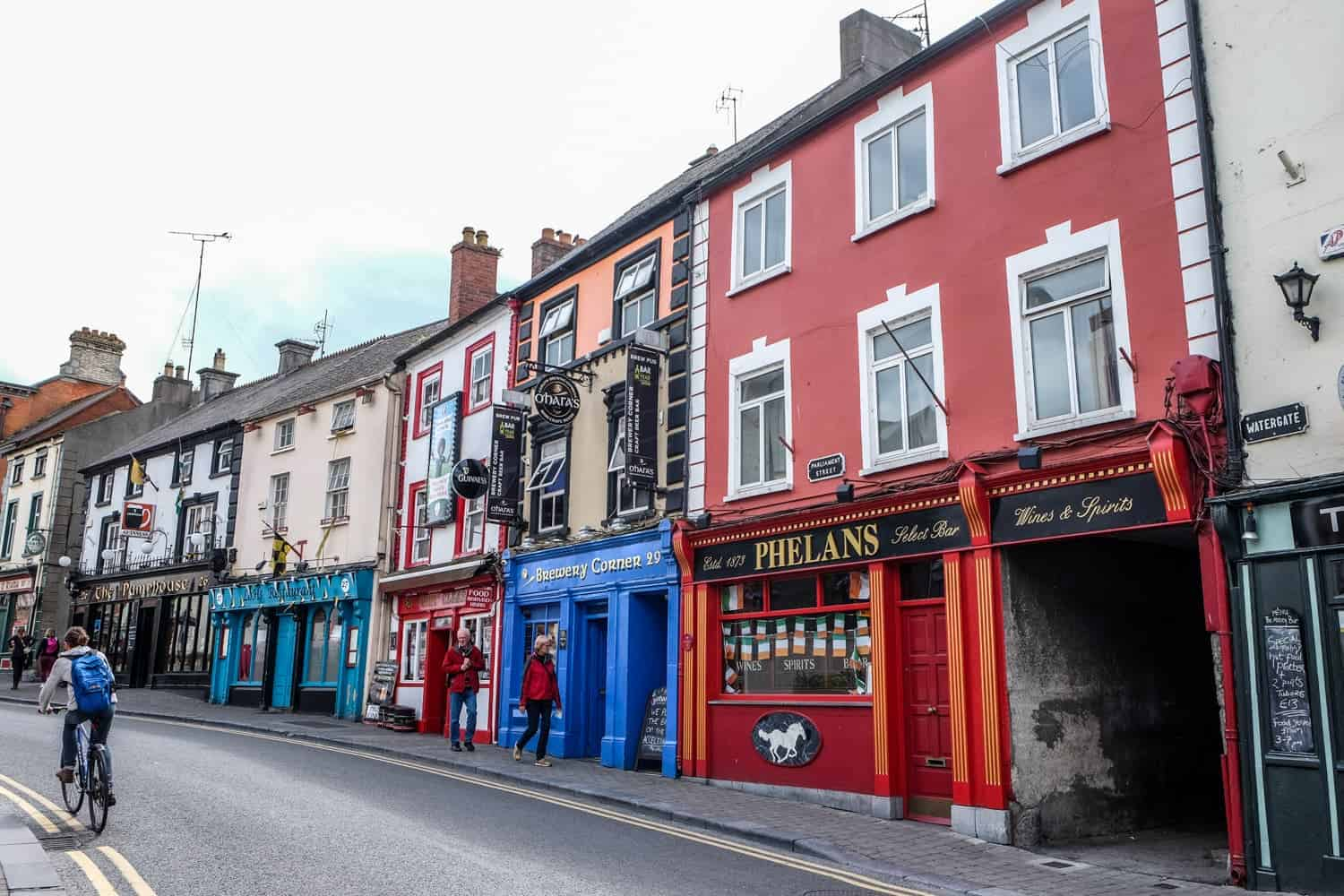 Pub Street, Kilkenny, Ireland's Ancient East, Medieval Mile