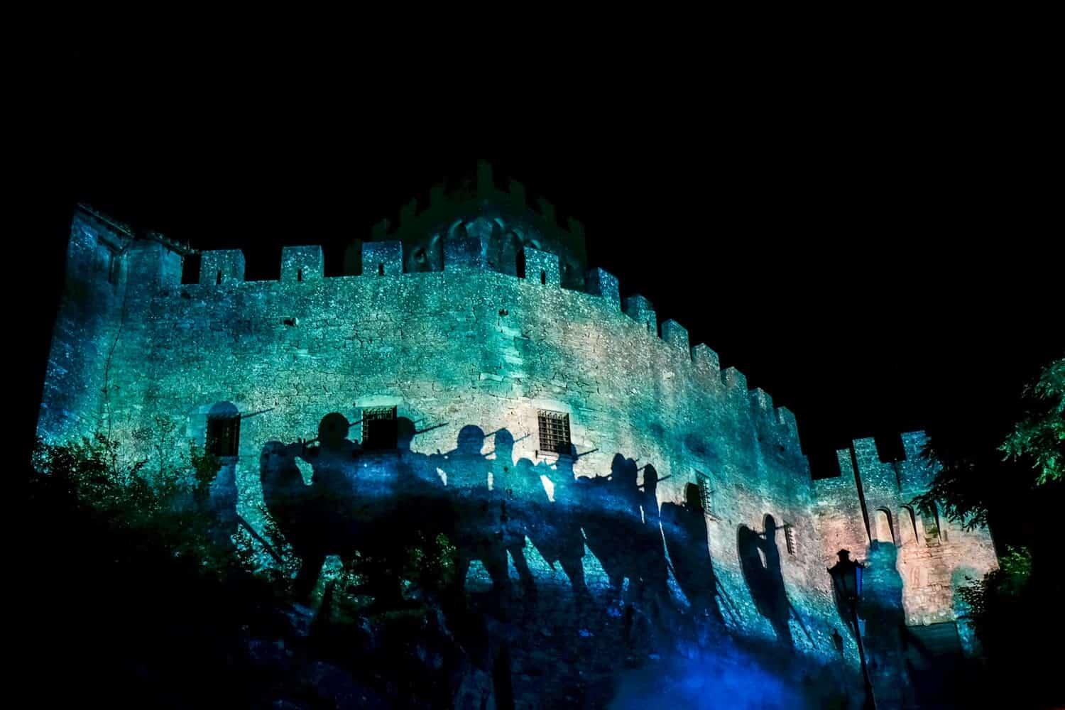 Medieval Festival in San Marino, Medieval Days Tower Light Show