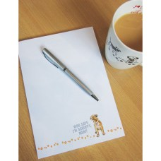 A5 Border Terrier Notepad