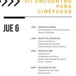 Cine regional inaugura VII Encuentro para Cinéfagos