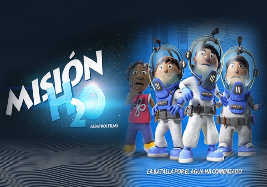 Película 'Misión H2O' llega al Festival de Animación El Ojo Iluso 2021