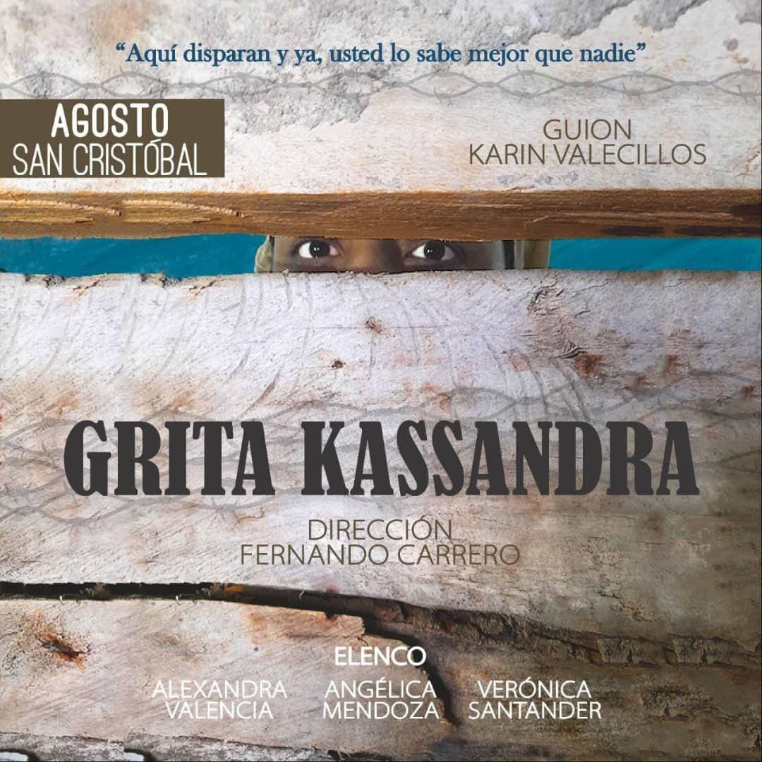 Teatro Bordes presenta 'Grita Kassandra' en San Cristóbal