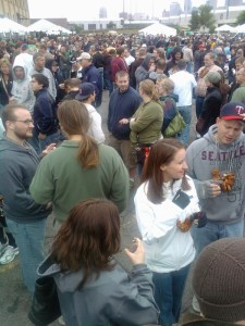 The crowd at the Autumn Brew Review