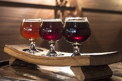 Flight of Barrel Aged Beers