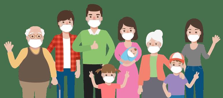 Boreal Espacio familia protegida en celebración