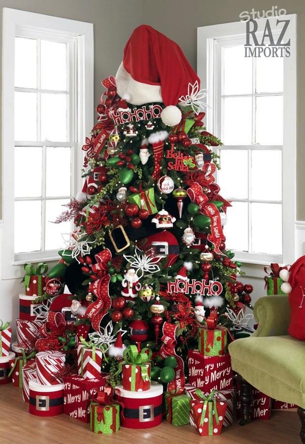 Paper Elf Christmas Ornaments