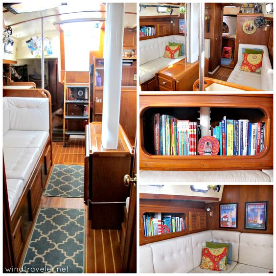 Beautiful And Comfortable Boat Interior Designs To Make Your Mouth     boat interiors 11