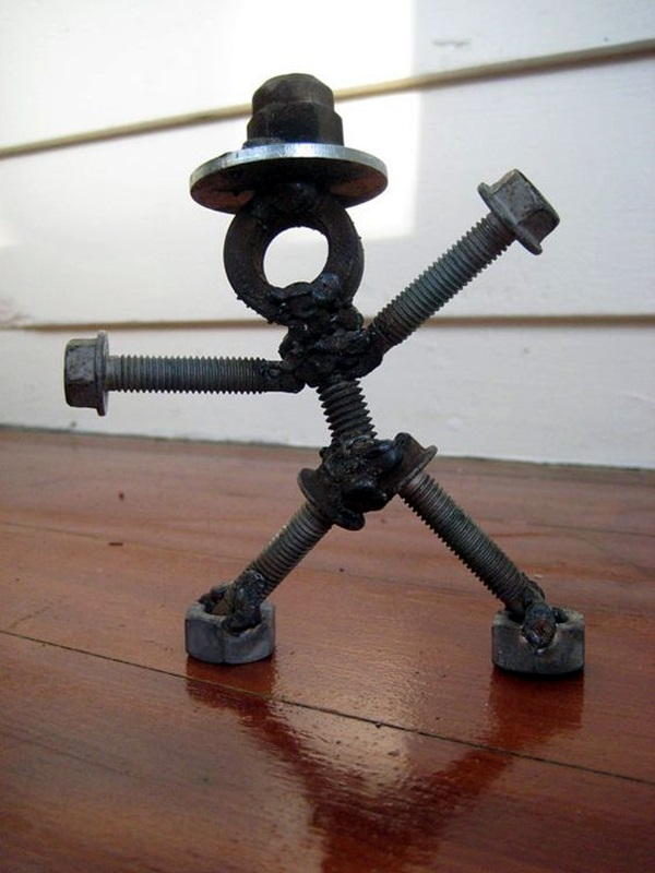 40 Mechanical Nuts And Bolts Art Ideas