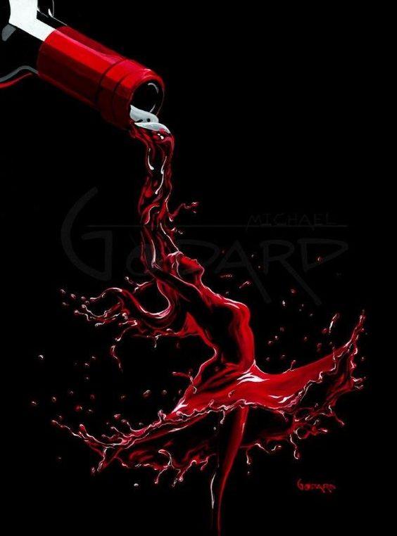 Wonderfully Uplifting And Intoxicating Wine Art Bored Art