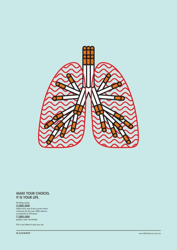 40 creative no smoking posters to print