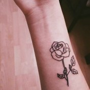 40 Gorgeous Rose Tattoo Designs For Women