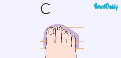 The Shape Of Your Feet Reveal Your Personality - C