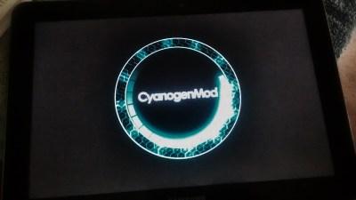 CyanogenMod loading logo