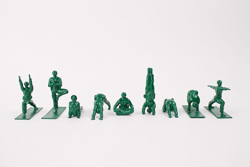 yoga-joes-peaceful-green-army-figures-dan-abramson-1