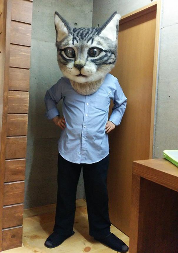 cabeza-gigante-gato-fieltro-housetu-sato-japan-school-wool-art (2)