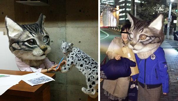 cabeza-gigante-gato-fieltro-housetu-sato-japan-school-wool-art (8)
