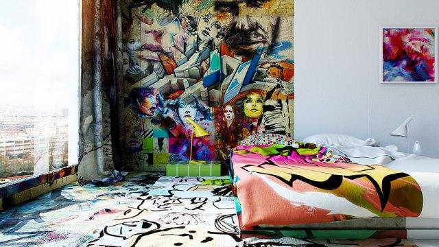 habitacion-hotel-dividida-mitad-blanco-graffiti-pavel-vetrov (4)