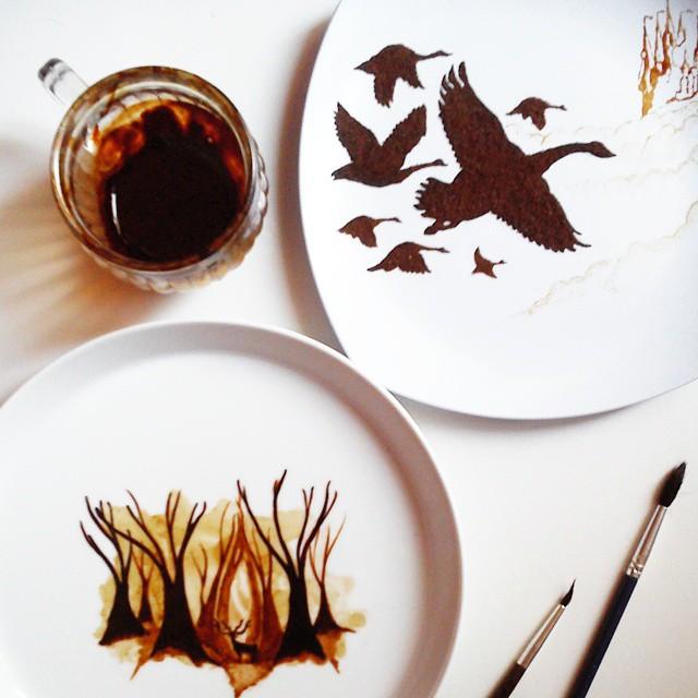 pintura-hojas-secas-posos-cafe-ghidaq-al-nizar-zerowastecoffee (13)