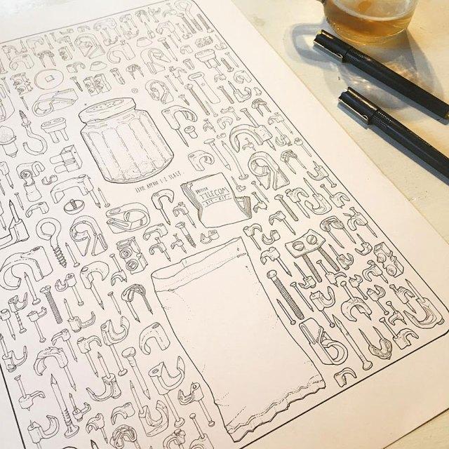 proyecto-dibujo-objetos-cobertizo-abuelo-fallecido-lee-john-phillips (6)