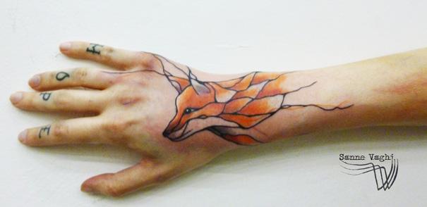 Diseno Tatuajes Inspirados En La Naturaleza Que Siguen Las Venas