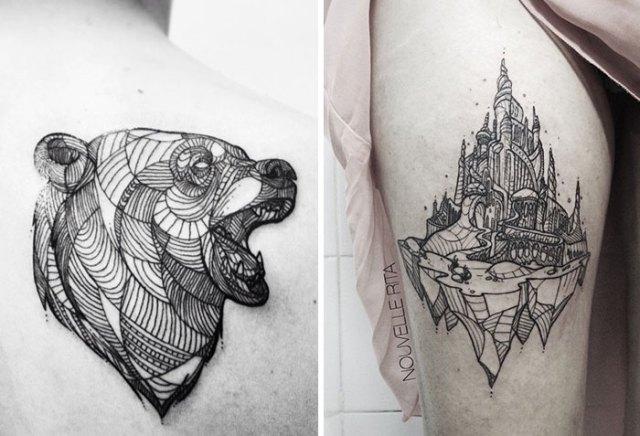 tatuajes-lineales-nouvelle-rita (17)